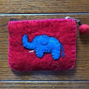 Handbags - Wool Pouch/Wallet